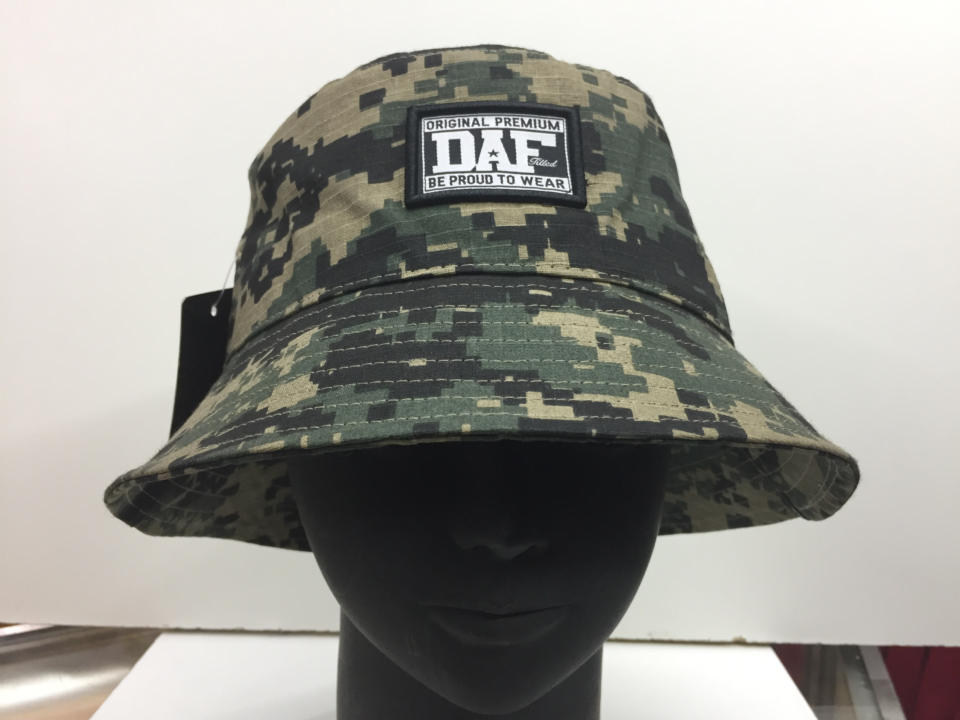 Bucket DoubleAA Militar pixel camuflaje - Gorrilandia f4a0dfaad67