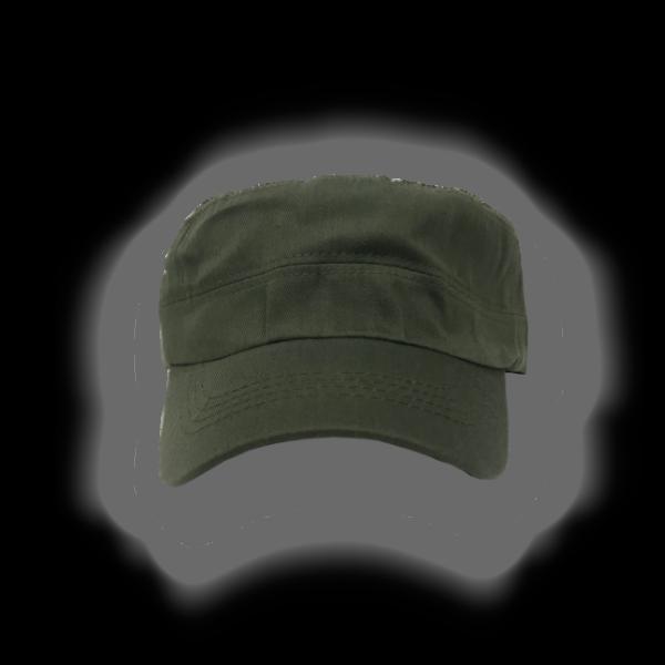 Kepi Ajustable verde Militar